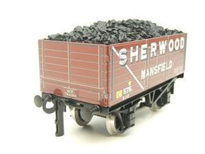 "Ace Trains O Gauge G/5-WS Private Owner ""Sherwood Mansfield"" No.575 Coal Wagon 2/3 Rail image 6"