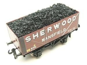 "Ace Trains O Gauge G/5-WS Private Owner ""Sherwood Mansfield"" No.575 Coal Wagon 2/3 Rail image 8"