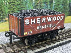 "Ace Trains O Gauge G/5-WS Private Owner ""Sherwood Mansfield"" No.575 Coal Wagon 2/3 Rail image 10"