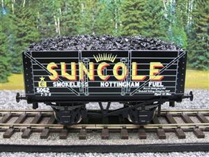 "Ace Trains O Gauge G/5-WS Private Owner ""Suncole"" No.5062 Coal Wagon 2/3 Rail image 1"