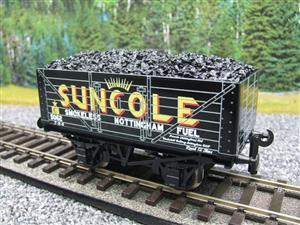 "Ace Trains O Gauge G/5-WS Private Owner ""Suncole"" No.5062 Coal Wagon 2/3 Rail image 3"