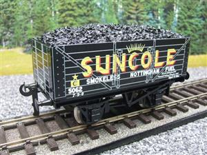"Ace Trains O Gauge G/5-WS Private Owner ""Suncole"" No.5062 Coal Wagon 2/3 Rail image 10"