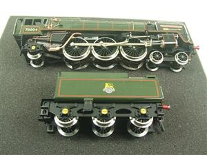 "Ace Trains O Gauge E27D BR Green Britannia Class ""William Shakespeare"" FOB Edition"" R/N 70004 Bxd image 7"