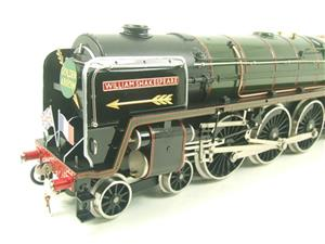 "Ace Trains O Gauge E27D BR Green Britannia Class ""William Shakespeare"" FOB Edition"" R/N 70004 Bxd image 9"