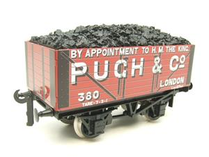 "Ace Trains O Gauge G/5 WS Private Owner ""Pugh & Co"" No.380 Coal Wagon 2/3 Rail image 3"