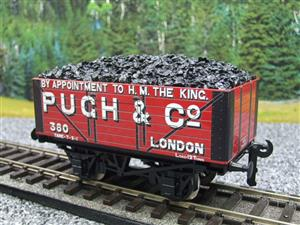 "Ace Trains O Gauge G/5 WS Private Owner ""Pugh & Co"" No.380 Coal Wagon 2/3 Rail image 4"