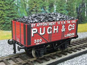 "Ace Trains O Gauge G/5 WS Private Owner ""Pugh & Co"" No.380 Coal Wagon 2/3 Rail image 10"