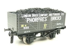 "Ace Trains O Gauge G/5 Private Owner ""Phorpres Bricks"" No.988 Coal Wagon 2/3 Rail image 4"