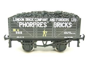 "Ace Trains O Gauge G/5 Private Owner ""Phorpres Bricks"" No.988 Coal Wagon 2/3 Rail image 5"
