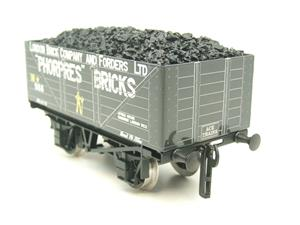 "Ace Trains O Gauge G/5 Private Owner ""Phorpres Bricks"" No.988 Coal Wagon 2/3 Rail image 9"