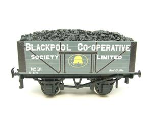 "Ace Trains O Gauge G/5 Private Owner ""Blackpool Co-Operative"" No.31 Coal Wagon 2/3 Rail image 1"