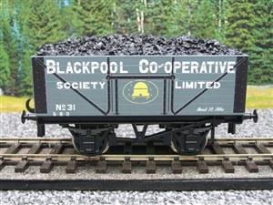 "Ace Trains O Gauge G/5 Private Owner ""Blackpool Co-Operative"" No.31 Coal Wagon 2/3 Rail image 5"