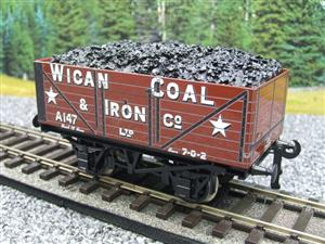 "Ace Trains O Gauge G/5 Private Owner ""Wigan Coal & Iron Co"" A147 Coal Wagon 2/3 Rail image 4"