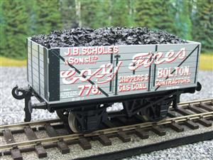 "Ace Trains O Gauge G/5 Private Owner ""Cosy Fires"" 778 Coal Wagon 2/3 Rail image 3"