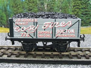 "Ace Trains O Gauge G/5 Private Owner ""Cosy Fires"" 778 Coal Wagon 2/3 Rail image 5"