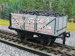"Ace Trains O Gauge G/5 Private Owner ""Cosy Fires"" 778 Coal Wagon 2/3 Rail image 9"