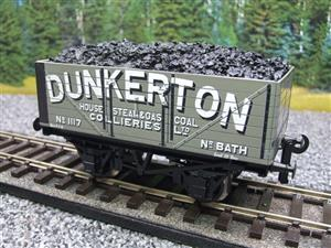 "Ace Trains O Gauge G/5 Private Owner ""Dunkerton"" No.117 Coal Wagon 2/3 Rail image 3"