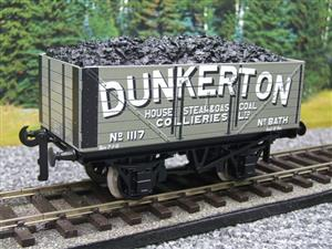 "Ace Trains O Gauge G/5 Private Owner ""Dunkerton"" No.117 Coal Wagon 2/3 Rail image 8"