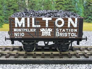 "Ace Trains O Gauge G/5 Private Owner ""Milton"" No.10 Coal Wagon 2/3 Rail image 1"