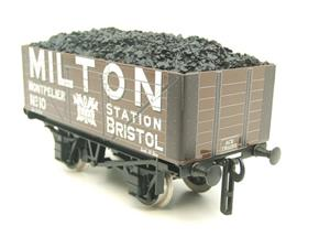 "Ace Trains O Gauge G/5 Private Owner ""Milton"" No.10 Coal Wagon 2/3 Rail image 2"