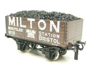"Ace Trains O Gauge G/5 Private Owner ""Milton"" No.10 Coal Wagon 2/3 Rail image 4"