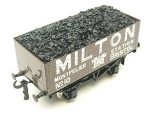 "Ace Trains O Gauge G/5 Private Owner ""Milton"" No.10 Coal Wagon 2/3 Rail image 6"