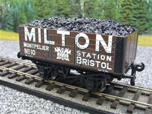 "Ace Trains O Gauge G/5 Private Owner ""Milton"" No.10 Coal Wagon 2/3 Rail image 8"