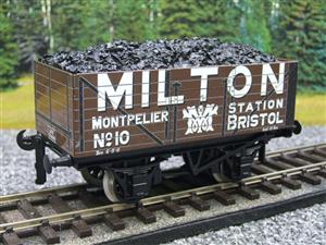 "Ace Trains O Gauge G/5 Private Owner ""Milton"" No.10 Coal Wagon 2/3 Rail image 10"