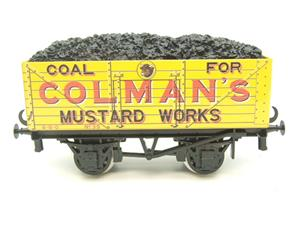 "Ace Trains O Gauge G/5 Private Owner ""Colmans Mustard Works"" No.35 Coal Wagon 2/3 Rail image 1"