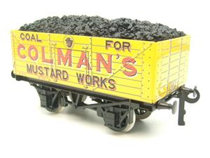 "Ace Trains O Gauge G/5 Private Owner ""Colmans Mustard Works"" No.35 Coal Wagon 2/3 Rail image 4"