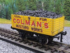 "Ace Trains O Gauge G/5 Private Owner ""Colmans Mustard Works"" No.35 Coal Wagon 2/3 Rail image 7"