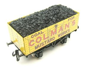 "Ace Trains O Gauge G/5 Private Owner ""Colmans Mustard Works"" No.35 Coal Wagon 2/3 Rail image 9"