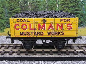"Ace Trains O Gauge G/5 Private Owner ""Colmans Mustard Works"" No.35 Coal Wagon 2/3 Rail image 10"