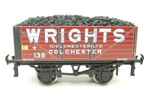 "Ace Trains O Gauge G/5 Private Owner ""Wrights"" No.135 Coal Wagon 2/3 Rail image 1"