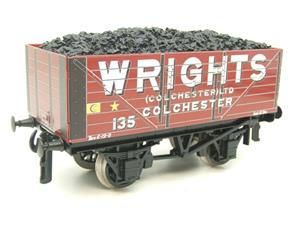"Ace Trains O Gauge G/5 Private Owner ""Wrights"" No.135 Coal Wagon 2/3 Rail image 3"