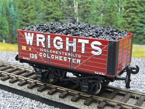 "Ace Trains O Gauge G/5 Private Owner ""Wrights"" No.135 Coal Wagon 2/3 Rail image 4"