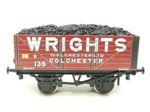 "Ace Trains O Gauge G/5 Private Owner ""Wrights"" No.135 Coal Wagon 2/3 Rail image 5"