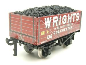 "Ace Trains O Gauge G/5 Private Owner ""Wrights"" No.135 Coal Wagon 2/3 Rail image 6"
