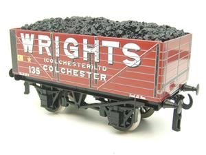 "Ace Trains O Gauge G/5 Private Owner ""Wrights"" No.135 Coal Wagon 2/3 Rail image 9"