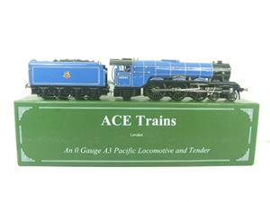 "Ace Trains O Gauge E6 BR Blue A3 Pacific ""Pretty Polly"" R/N 60061 Electric Boxed image 1"