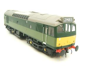 Heljan O Gauge Item 2555 BR Two Tone Green Class 25 Type 2 WSYP Diesel Loco Electric Bxd image 6