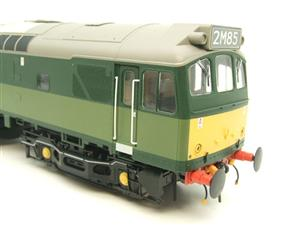 Heljan O Gauge Item 2555 BR Two Tone Green Class 25 Type 2 WSYP Diesel Loco Electric Bxd image 8