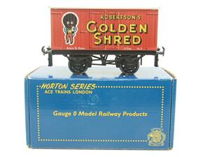 "Ace Trains Horton Series O Gauge Private Owner ""Robertsons Golden Shred"" Van Boxed image 1"