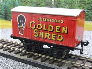 "Ace Trains Horton Series O Gauge Private Owner ""Robertsons Golden Shred"" Van Boxed image 3"