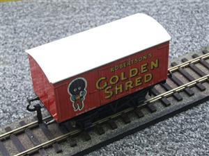 "Ace Trains Horton Series O Gauge Private Owner ""Robertsons Golden Shred"" Van Boxed image 9"