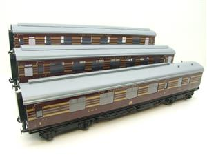Ace Trains O Gauge C28 A & B Sets & C28K Kitchen & C28 Open 3rd LMS Maroon Coronation x8 Coaches image 3