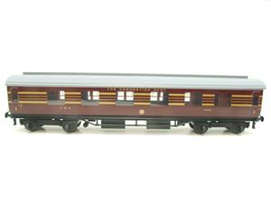 Ace Trains O Gauge C28 A & B Sets & C28K Kitchen & C28 Open 3rd LMS Maroon Coronation x8 Coaches image 9