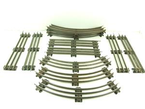 Hornby O Gauge Complete Large Oval Electric 3 Rail Tinplate Track 1ft Radius Curves image 4