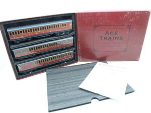 "Ace Trains O Gauge Richmond Set CIE ""LMS EMU"" Electric Multiple Unit Coach Set Electric 3 Rail Bxd image 2"