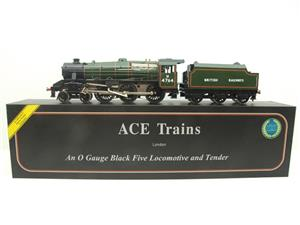 Ace Trains O Gauge E19-H BR Gloss Green Black Five Loco & Tender R/N M4764 Electric 2/3 Rail Bxd image 1
